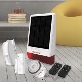 GSMの太陽警報システムは30の無線アラーム探知器をサポートできる