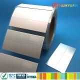 Impinj imprimível Monza 4RFID UHF QT na etiqueta de etiqueta de metal