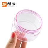 la bottiglia dentellare dell'animale domestico di 100g 150g ed i coperchi dei pp svuotano il vaso largo cosmetico della crema della bocca