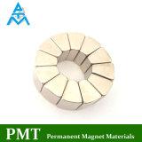N38uh Permanente Magneet met Magnetisch Materiaal NdFeB voor Brushless Motor