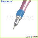 Contra il E-Tipo a bassa velocità basso dentale colore rosa del fermo di Handpiece di angolo della miscela Ca