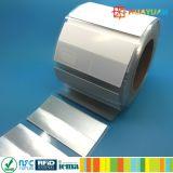 Version imprimable Impinj Monza 4QT sur métal UHF RFID tag label