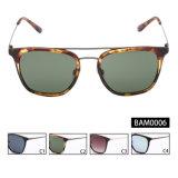 De klaar Zonnebril van het Frame UV400 van de Legering van de Voorraad voor Mensen (BAM0006)