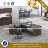 L 모양 사무용 가구 나무로 되는 사무실 테이블 (책상) (HX-8N1384)