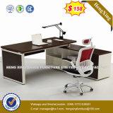 Bureau moderne de gestionnaire de patte d'acier inoxydable de meubles de bureau (HX-6M008)