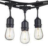 12PCS LED Filament Bulbs를 가진 IP65 S14 String Light 7.5m