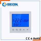 Regulador de temperatura del termóstato del sitio de pantalla táctil de TDS21-Ep dentro de edificios