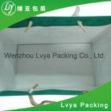 Sacos de papel de compra personalizados novos do presente com o punho de China