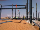 Estructura de acero Span Multi almacén taller de estructura de acero con grúa