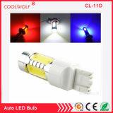 Ámbar Azul Rojo Blanco 11W COB 7443 7440 7444T20 na bombillas LED para alquiler de bombillas LED para las luces intermitentes, luces diurnas (T20 7443 7440, amarillo)