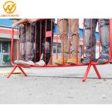 1*2m временные стальной дороге заграждения с порошковое покрытие