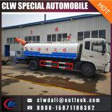 최신 판매! 8-10 Cbm 물 탱크 트럭 차량