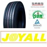 alta calidad de 11r22.5 315/80r22.5 Joyallbrand todo el carro y omnibus de acero TBR de Radail