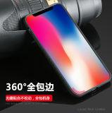 PC 뒤 TPU 프레임 iPhone x를 위한 편리한 손 감각 케이스