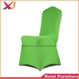 結婚式のスパンデックスの椅子カバーを食事する卸し売りホテルのレストラン