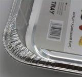 싼 가격 알루미늄 호일 음식 쟁반 (Z4012)