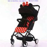 El material 3 del poliester en 1 tipo del cochecito de niño del carro de bebé hermana el cochecito de bebé