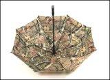 Пластичная ручка для однослойного напечатанного зонтика гольфа с мешком плеча