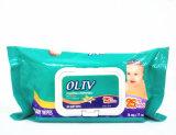 Trapos mojados del bebé sin perfume orgánico suave