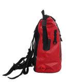Sac à dos Sac étanche rouge en plein air pour la randonnée pédestre ou en camping