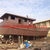 barco profesional material de acero de la pesca profesional del barco rastreador del 16.5m