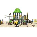 Напольная спортивная площадка серии джунглей для парков детей с высоким качеством Kq60054A