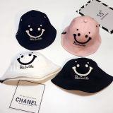 Custom Kids Funny Hat tampa da caçamba de algodão com logotipo Customed