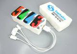 Nuevo Banco de potencia de PVC personalizadas cargador de teléfono móvil