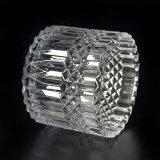 Populäres Glaskerze-Glas mit eindeutigem Muster