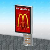 Светодиодный дисплей наружной рекламы Lightbox дисплей