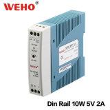 China-industrieller Mini-LÄRM Schienen-Stromversorgung 220V Wechselstrom zu 5V Gleichstrom 10W