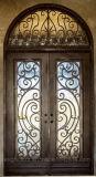 製造業者の中国の直接価格の錬鉄の前ドア外部エントリ金属のドア(EI-16)
