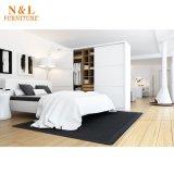 Домашняя деревянный шкаф с одной спальней дизайн отеля шкаф платяной шкаф
