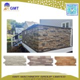 Het Opruimen van de Steen van pvc Faux het baksteen-Patroon van het Comité van de Muur de TweelingExtruder van de Schroef
