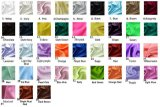 Bolsa colorida del lazo de la joyería del almacenaje de la tela de la mancha de óxido del regalo