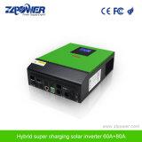 Haute fréquence 4kVA Onde sinusoïdale pure panneau solaire onduleur avec contrôleur de charge solaire MPPT