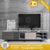 細工した正方形の金属のスペース節約TVの立場(HX-8ND9361)