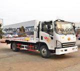 3-5 toneladas camión de rescate, Alquiler de remolque de carretilla elevadora, Camión grúa de plataforma plana