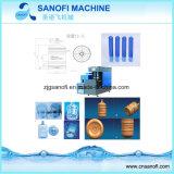 Botella de agua de 5 galones Semi-Auto máquina de soplado de Pet