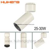 Réglable 25W 30W 90lm/W Monté en Surface COB Piste de plafond Spot LED Spotlight