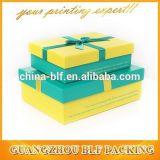 Kundenspezifische dekorative Cardbaord Geschenk-Kästen Wholesale mit Kappen