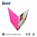 Подгоняйте рамку подарка дня рождения/фотоего цифров/видео- поздравительную открытку/карточку венчания 5 дюймов