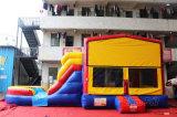 Castelo Bouncy modular com corrediça de água dobro Chb709