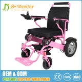 Cadeira de rodas elétrica da dobradura sem escova de pouco peso portátil com Ce