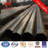 De Montage van Pool van het staal voor Gegalvaniseerde Monopole