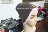 Шлемы Beanie Earflap фабрики подгонянные продукцией черные акриловые связанные Slouchy