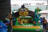 子供の膨脹可能な跳ね上がりの遊園地の運動場の膨脹可能な跳躍の城