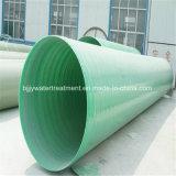 Tubo de la alta presión de la desalación GRP del agua de mar de la fibra de vidrio