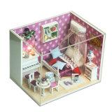 DIY деревянный дом Doo с учебными игрушки для детей