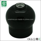 Socket de lámpara pendiente de cerámica retro de la porcelana del sostenedor de la lámpara de Colshine E27 para la decoración interior